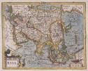 ASIA  MERCATOR HONDIUS   ATLAS MINOR