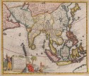 VAN DER AA MAP OF ASIA,   SOUTH EAST ASIA