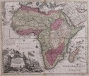 SEUTTER  SUPERB FOLIO MAP OF AFRICA