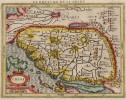 MERCATOR HONDIUS MAP OF CHINA    KOREA ISLAND