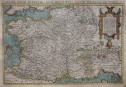 ORTELIUS FOLIO MAP OF FRANCE