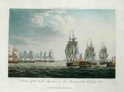 MARINE SITUATION OF THE HOSTILE SQUADRONS MORNING 23rd JULY 1805