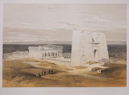 TEMPLE OF EDFOU  ANCIENT APOLLINOPOLIS  BY DAVID ROBERTS