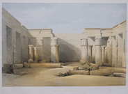 MEDINET ABOU  THEBES .. DAVID ROBERTS