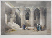 TEMPLE OF ESNEH  ..  DAVID ROBERTS